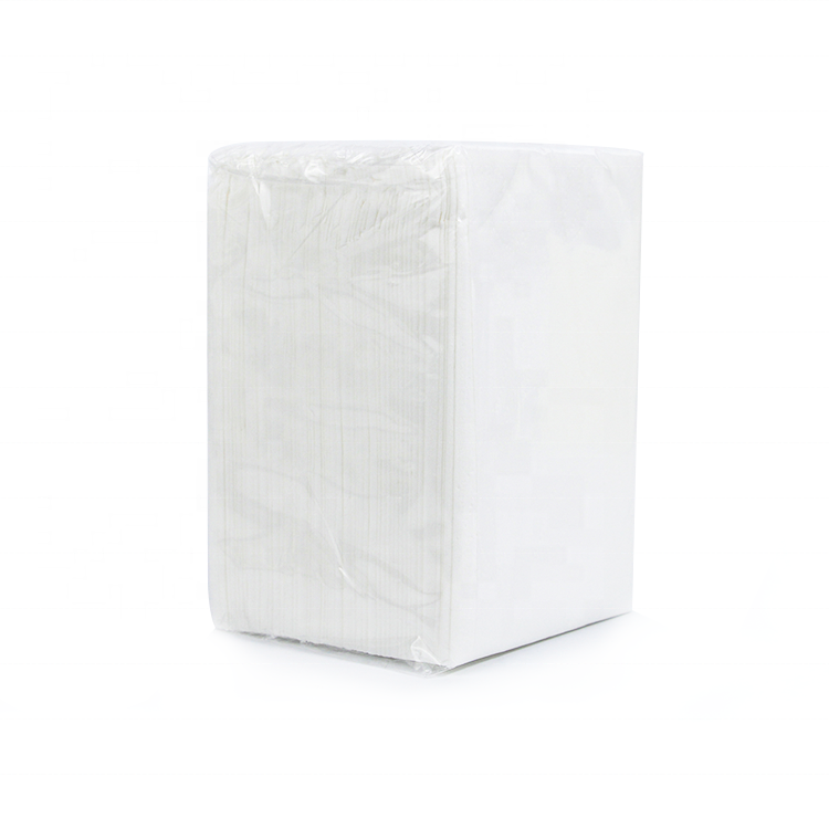 Fancy Custom Printed Recycled Paper Napkins Tissue For Restaurants With Logo Print