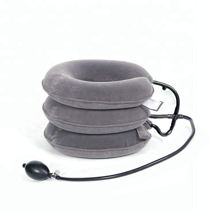 Custom 3 Layers Inflatable Air Neck Traction cervical neck traction device Relive Pain