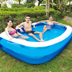 Innovative design inflatable mini swimming pool for kids mattress