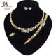 T0232 New design Hot Sale 18K gold X Heart I love you jewelry set