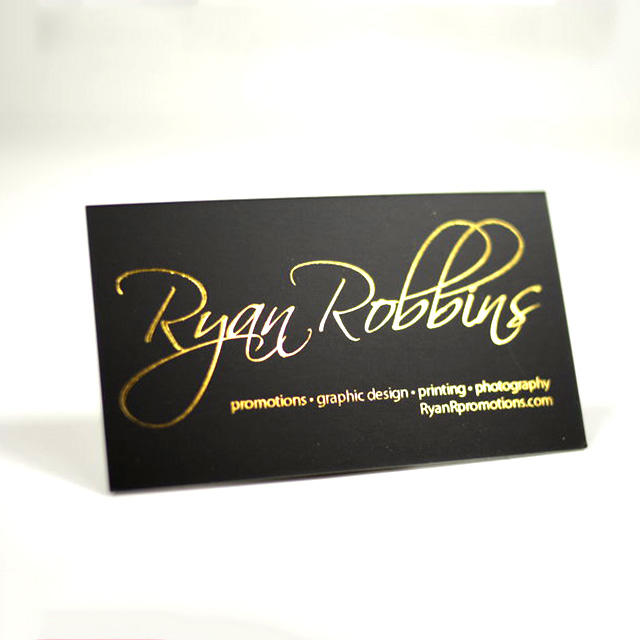 Gold embossed spot uv 3d blank sublimation business card printing