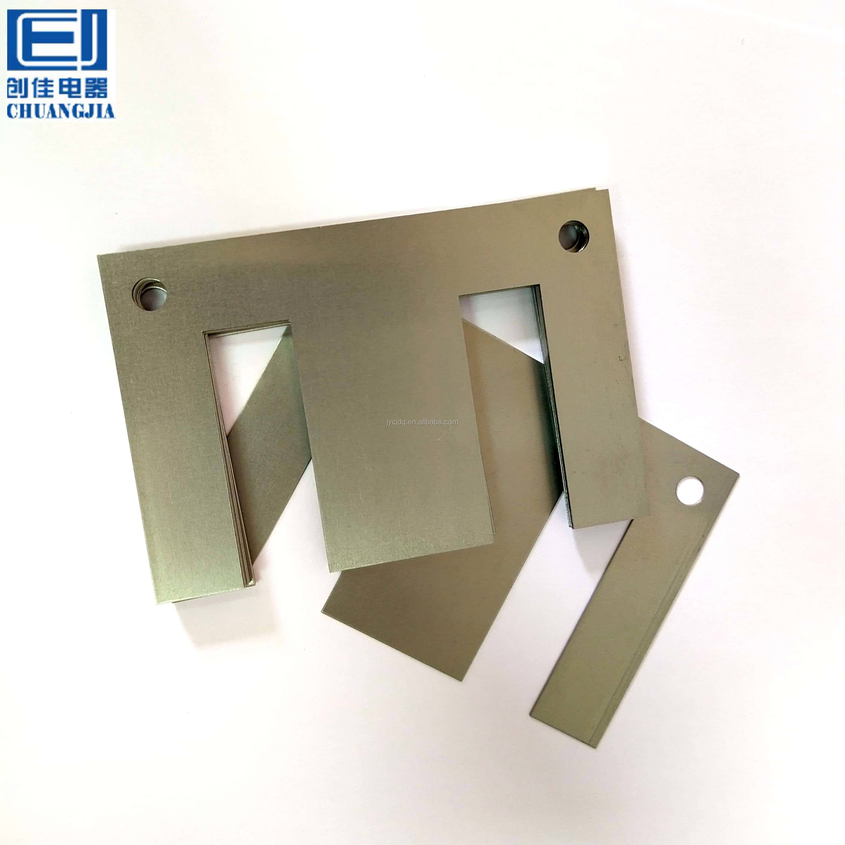 Chuangjia Cold Rolled Transformer Silicon Steel Lamination EI 144