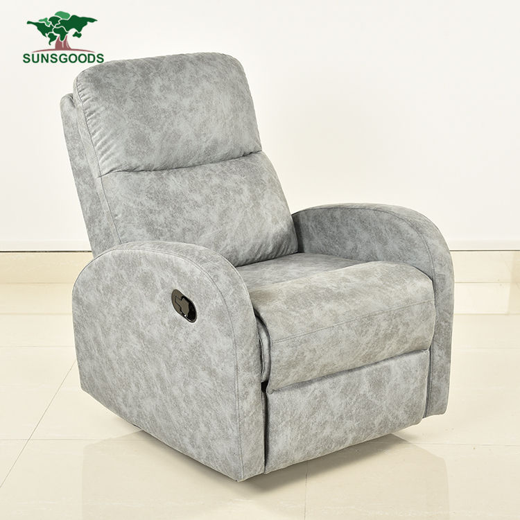 Adjustable Black Leather Power Rocker Recliners Suites On Sale