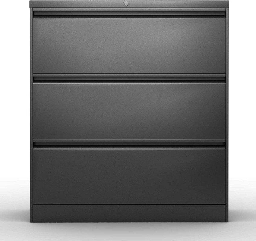 Amazon growing hit Lateral File Cabinet with Lock Heavy Duty Lateral Filing Cabinet