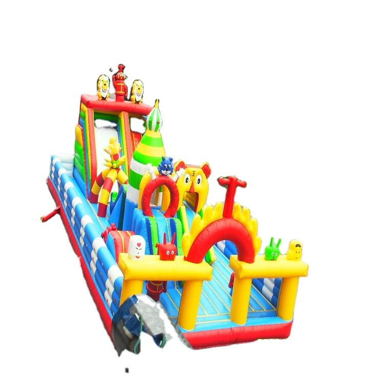 2020 Wholesale Bouncing Inflatable Castle Inflatable Trampoline Jump Castle Bounce Houses For Play