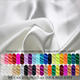 Costume [ Silk Fabric ] Custom Natural Color 100% Silk Satin Fabric Nature White Silk Fabric For Clothing