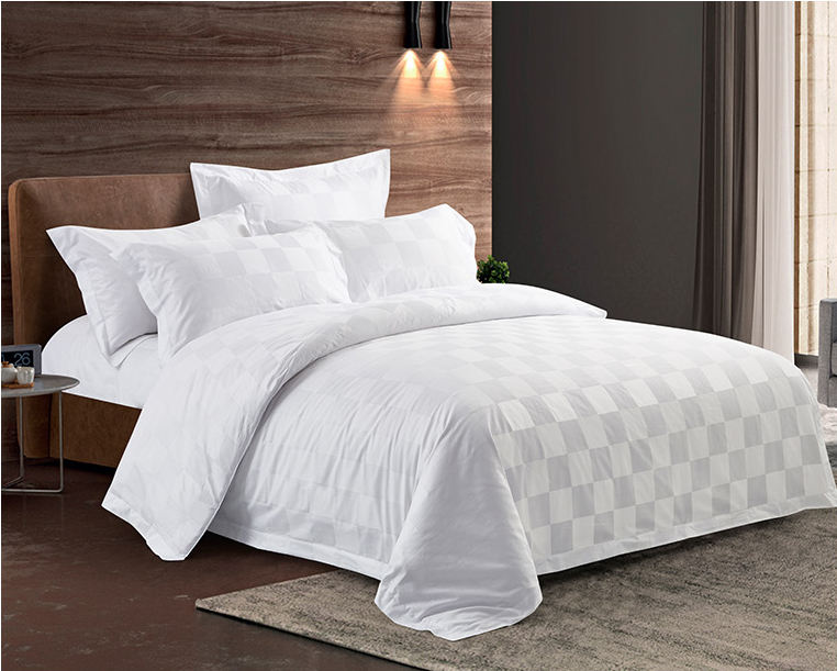 hot sale OEM 200 TC 300TC thread cotton bed sheet set 100% cotton pillow case cover white duvet cover white hotel quilt