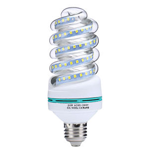 Chinese manufacturer factory free sample SMD2835 3W led energy saving spiral led corn bulb
