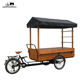 hand in hand vehicle electric cargo bike coffee bike