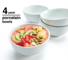 Chinese white color wholesale catering weddings ceramic rice/salad bowl