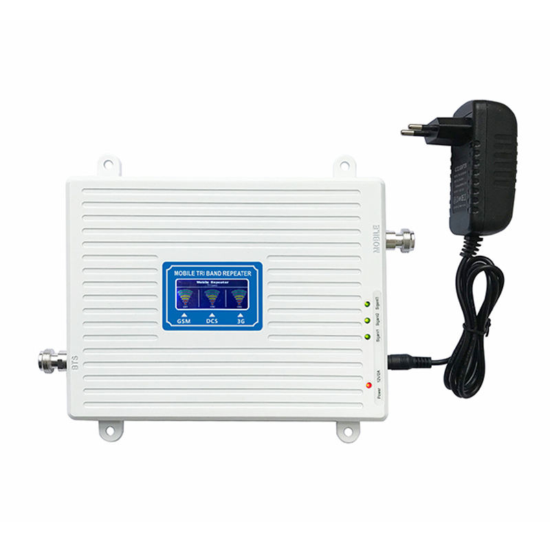 2G/3G/4G High gain build-in power supply gsm amplifier mobile signal booster