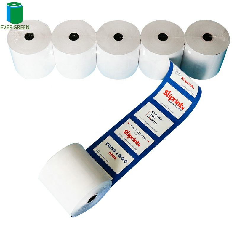 50 Rolls per carton 80x80 3 1/8 x 230' thermal paper roll