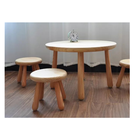 Solid pine wood table from Shandong Good Wood JIA MU JIA