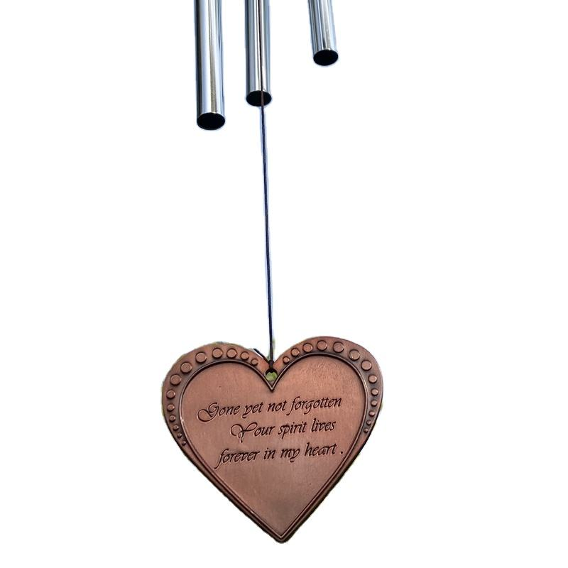 Fast Shipping Outdoor Wind Chimes Deep Tone Sympathy Gifts für Memorial Loss von Loved One