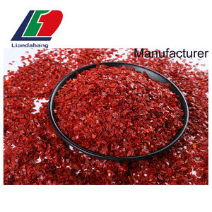 Chili Crushed  Seedless Yidu Chili Pepper Seasoning  Specification Red Chili Flakes 8 Mesh
