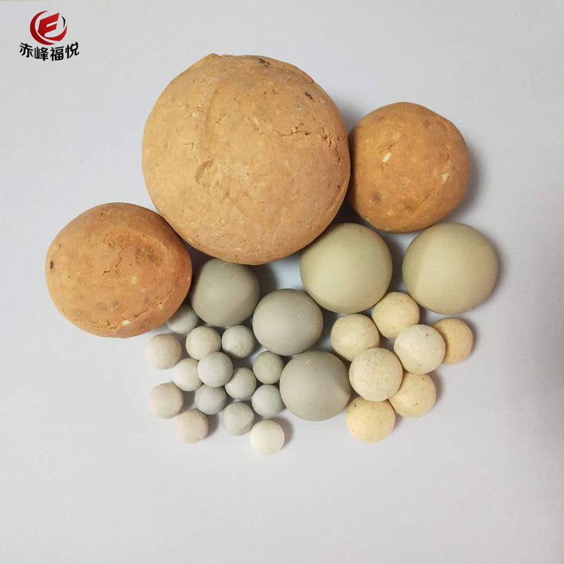 White High Temperature Resistance Alumina Ceramic / High Alumina Ball