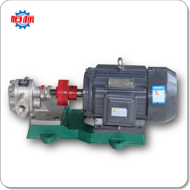 Horizontal high pressure electric olive oil transfer pump