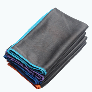 cleaning Product 2020 Micro fibre Cloth Glass Cleaning Cloth with Carbon fiber