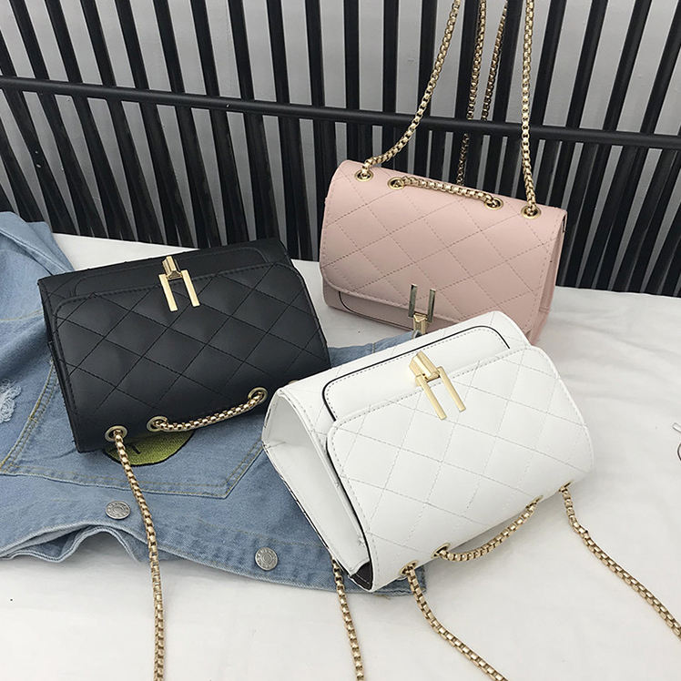 Pure Color Women's Handbag Leather Crossbody Bag PU Shoulder Bag Hand Bag for 2020 new arrival