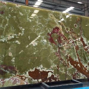 Natural high quality green onyx marble slab popular in wall cladding tile onyx green marble