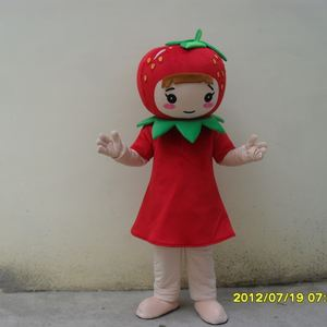strawberry raspberry mascot costume