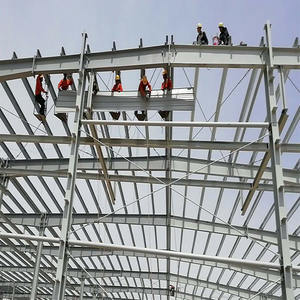 New Construction Projects Nice Design Steel Frame Pre Fab Warehouse