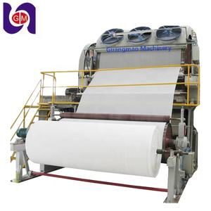 Afval Recycling Band Zag Snijden Mini Cilinder Jumbo Papier Wc Roll Tissue Servet Product Making Machine Productielijn Molen
