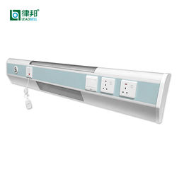 Best price aluminum material medical equipment hospital bed head unit