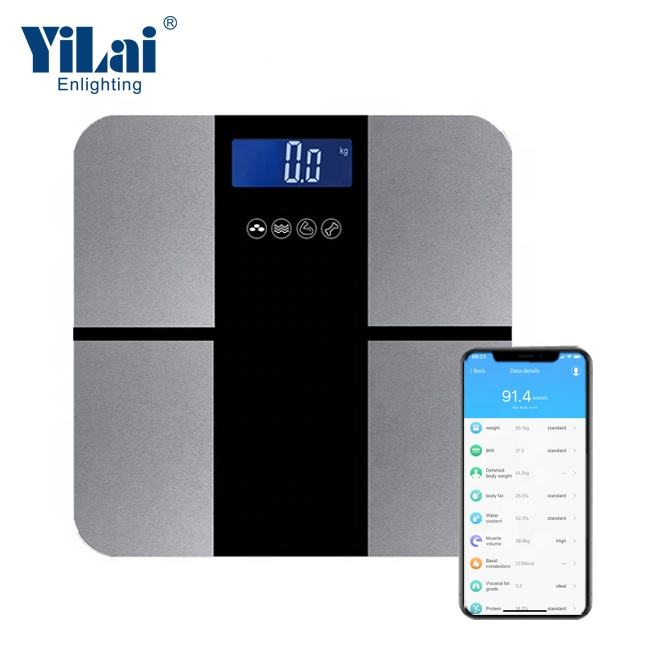 Wholesale Digital industrial China trade WIFI bluetooth body fat weighing smart scales with platform custom logo smart android