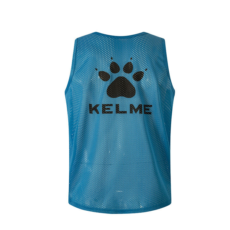 KELME adult football training bibs customization bib soccer bibs training vest printing logo