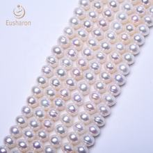 Wholesale China White Flat Round Cultured Best Selling Fresh Water Pearls