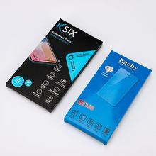 Wholesale Full Color Printed Gloss Varnish Tempered Glass Screen Protector Cardboard Box Package