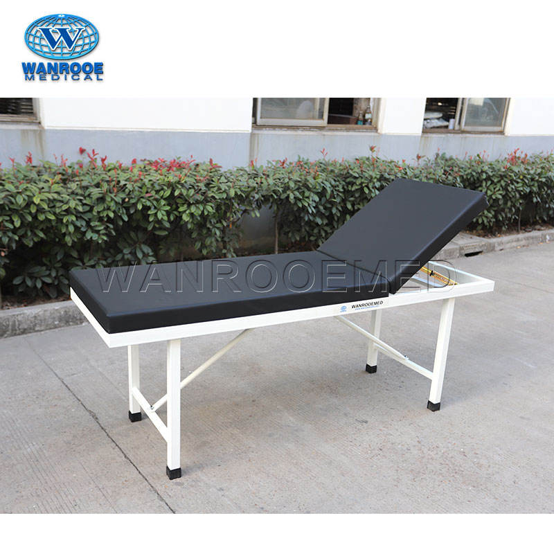 BEC04 Portable Clinic Hospital Patient Gynecological Steel Backrest Examination Table