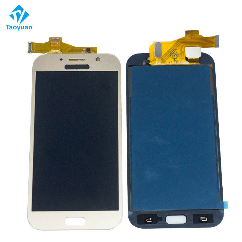 Display Touch screen per Samsung Galaxy A7 2017 A720 LCD con l'assemblea del digitalizzatore