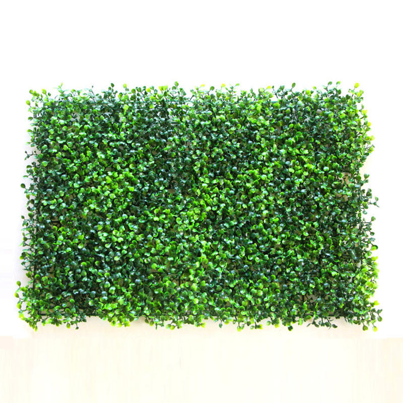 Hot sale ornamental plants artificial green wall home decorative artificial milan grass wall panels