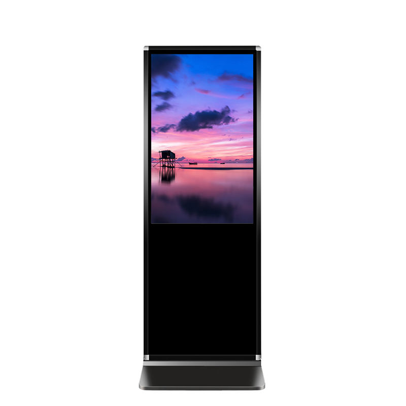 43 49 55 65 Inch Floor Stand Alone Hd Lcd Interactive Digital Signages Computer Touch Screen Kiosks