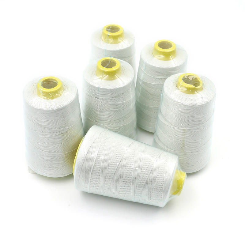40/2 Polyester Sewing Threads for Sewing Supplies Raw White Spun Sew Polyester Thread