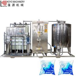KOYO produce automatic integrative water sachet production line