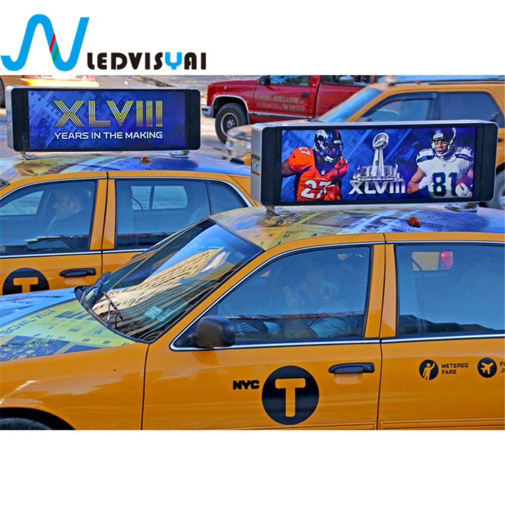 P5 Led Roof Top Taxi Board P5 Taxi Advertising Led Taxi Display