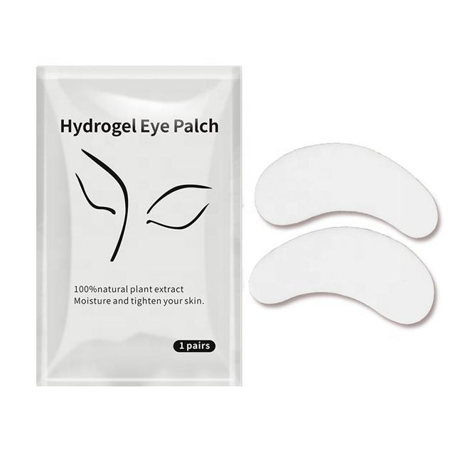 Eyepads For Eyelash Extensions Private Label Biogel Eyepads Natural Moisture Eyelash Patches Tighten Eye Pads For Eyelash Extensions