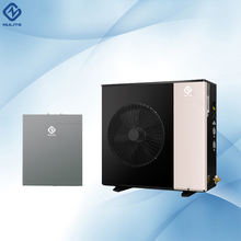 Inverter 10kw low ambient heat pump split r410a