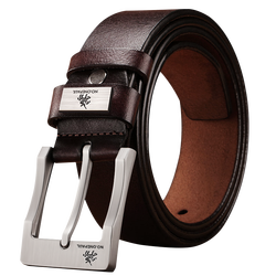 genuine leather luxury strap male belts new fashion classic