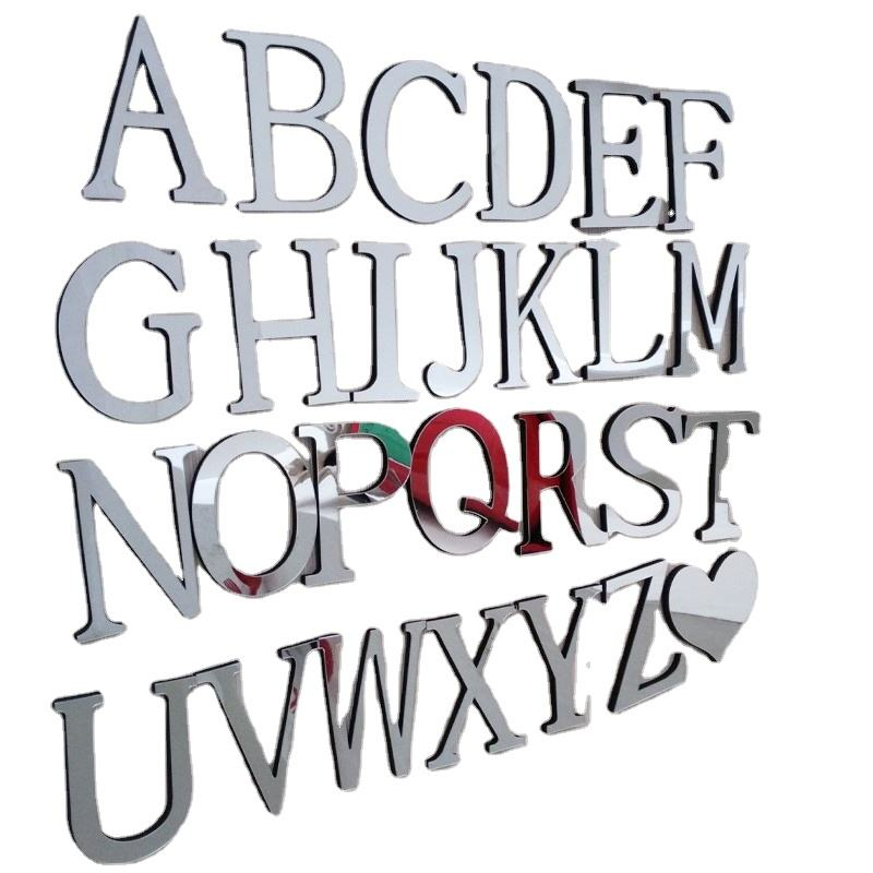 Preciser Abc Alphabet Wall Decals Stick On Wall Art For Bedroom