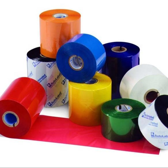 Factory polyester satin fabric ribbon Wholesale care label ,wax resin ribbon,resin ribbon
