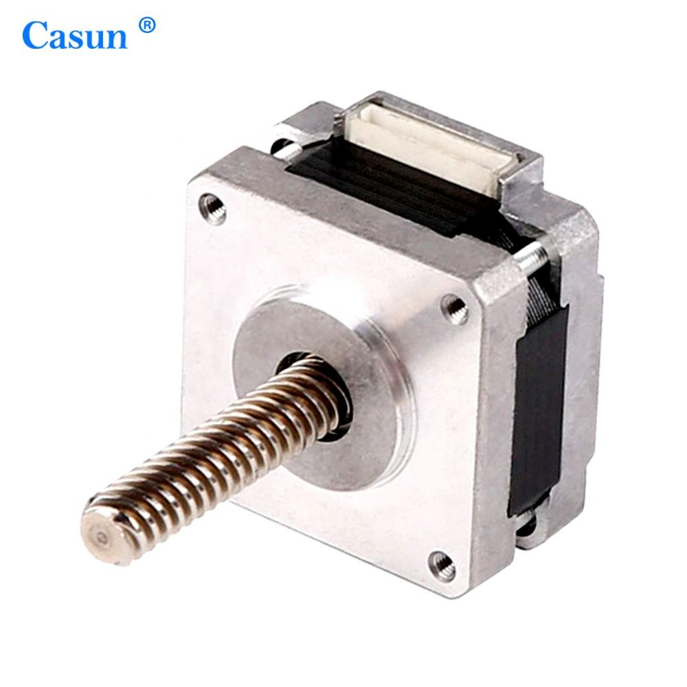 Hot sale nema step motor hybrid linear nema 14 non captive stepper lead screw stepper motor