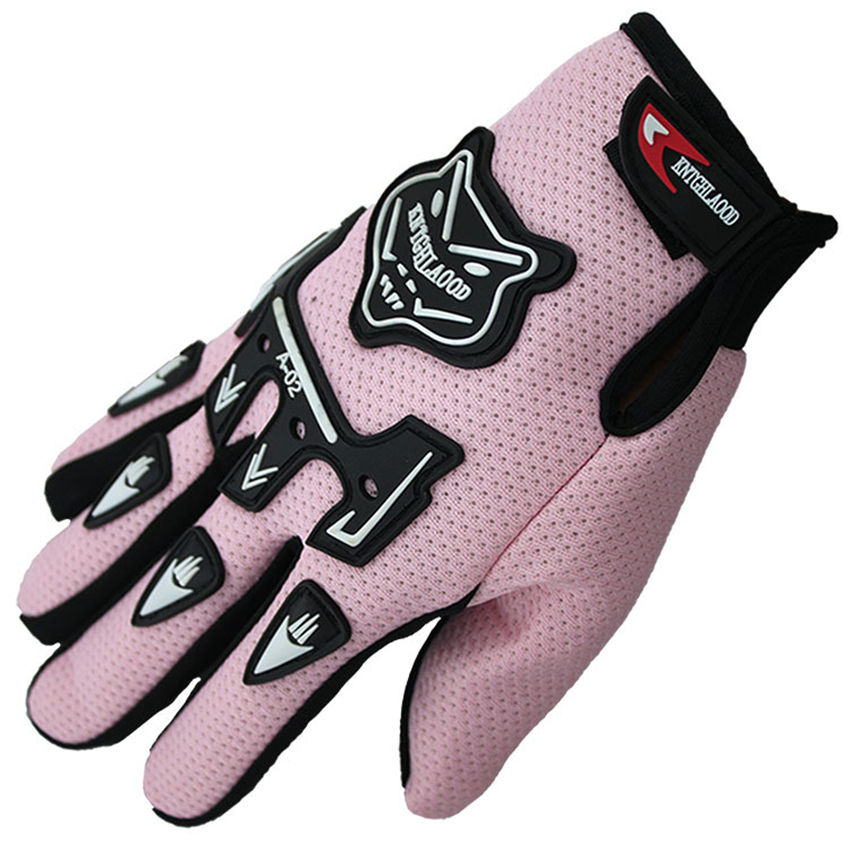 Factory Summer Full Finger child youth/ Kids and adult Motorcycle Racing Gloves