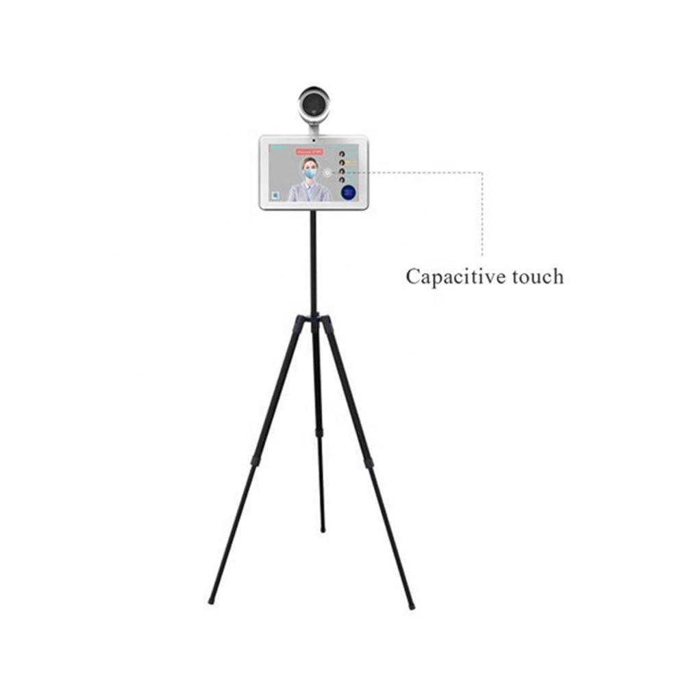 10.1inch face recognition thermal imaging camera for fever