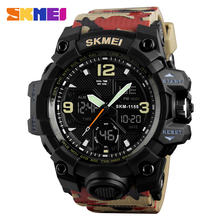 Big Dial SKMEI 1155B Digital Watches Military Army Men Watch Water Resistant Date Calendar LED Backlight Sports Wristwatches Men