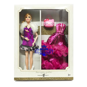 Fashion Buatan Tangan Fashion Dolls 11 Inci Boneka dengan Sendi OEM