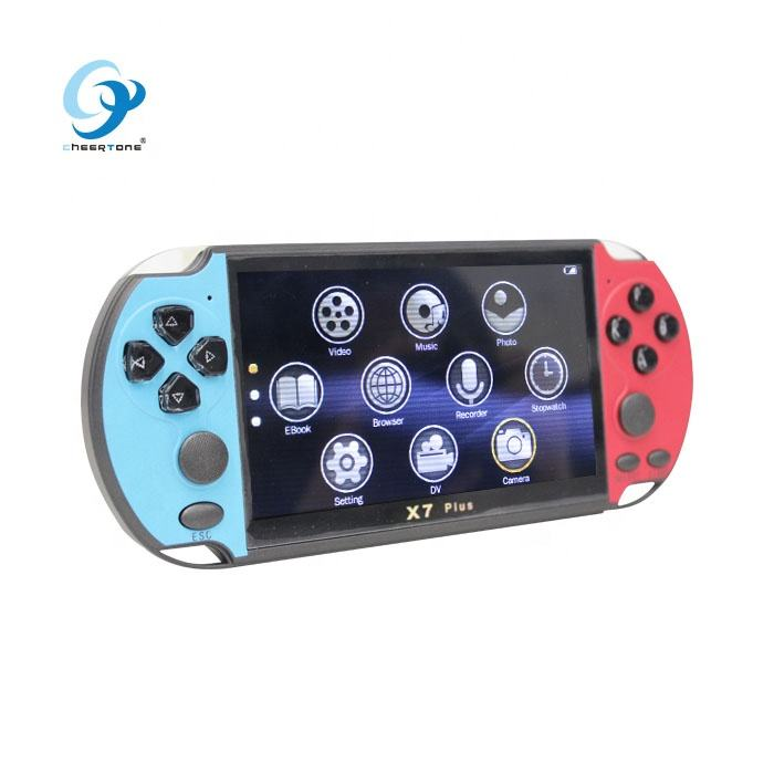 CT821 Hot Item Portable Handheld 8 16 32 64 128 Bit MP5 Consola De Juegos Portatil Game Consola Permainan Video konsol Pemain